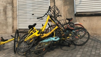 Start-up chinesa perde mais de 200 mil bicicletas